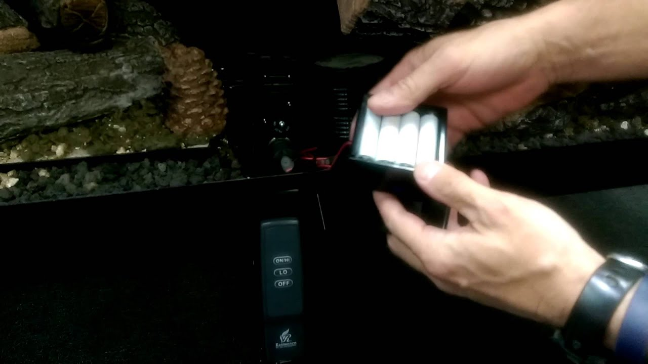 how to replace the remote control receiver batteries youtube