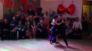 Vanesa Villalba & Facundo Piñero 3/4 - 2 Corazones Tango Accademia Rimini 16/11/2018
