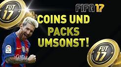 FIFA17 Kostenlose Münzen und Packs Fifa 17 Coins  Bekommen umsonst /kein hack oder glitch! Deutsch