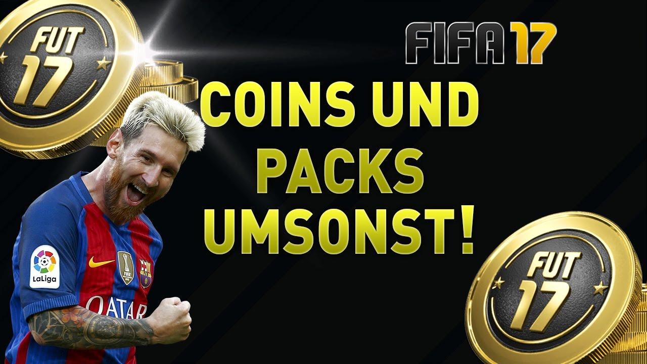 Fifa17 Kostenlose Münzen Und Packs Fifa 17 Coins Bekommen Umsonst