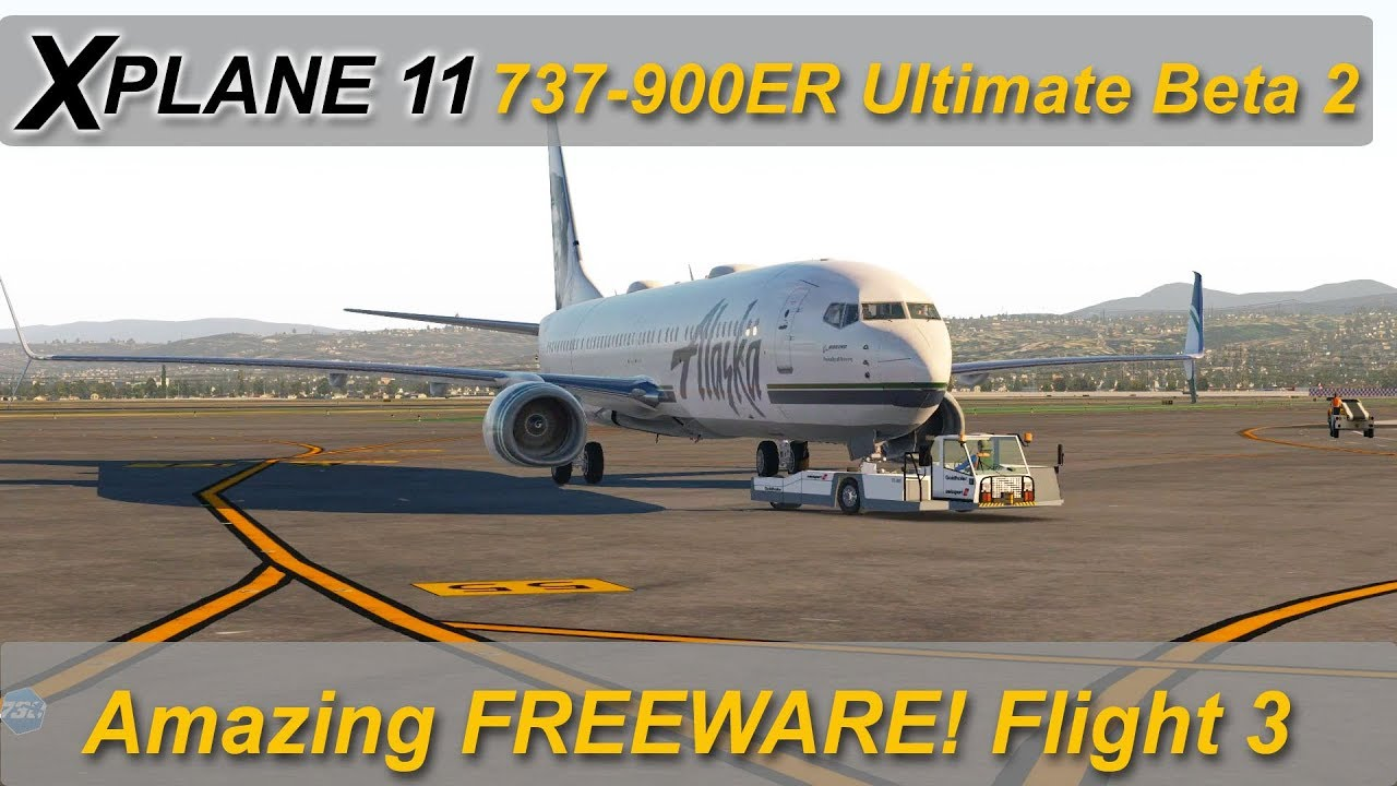 X-plane 11: 737-900ER Beta release 2  Lets take it for a spin!