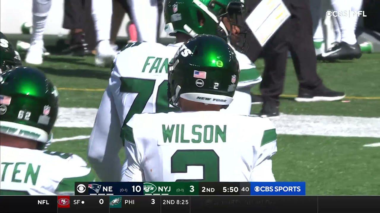 Download Zach Wilson Throws 3 First-Half Interceptions