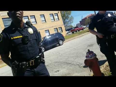 PROBATION DEPUTY WANTS TO TELL ME IM TRESPASSING!! DUMBASS