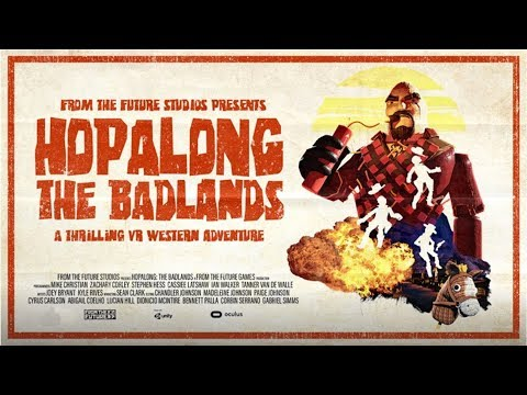 You're a Cowboy in VR | Hopalong: The Badlands | Coming to PlayStation VR Spring 2018