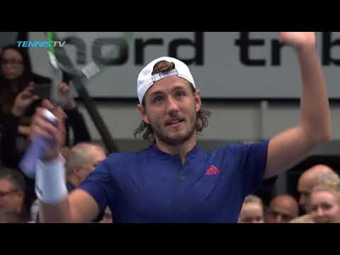 In All-French Final  Pouille Vs Tsonga | HD 2017 Highlights