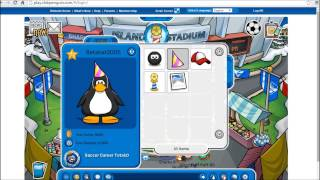 Club Penguin - Beta Hat hacker (Item add...