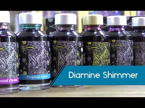Spotlight on Diamine Shimmer Inks