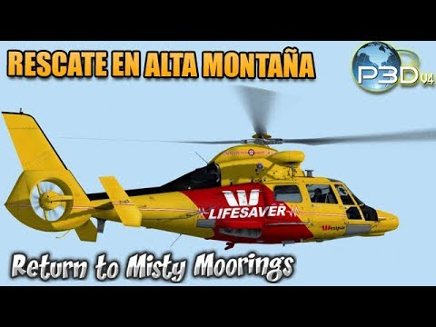 [P3Dv4] RTMM - BushFlying - Cera AS365 - Rescate médico