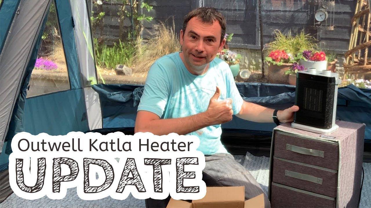 video Outwell Katla Fan and Heater