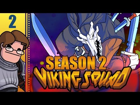 Let's Play Viking Squad Co-op Season 2 Part 2 - I Built A Career On Pity Laughs