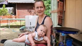 Karin woont met haar gezin in een tiny house