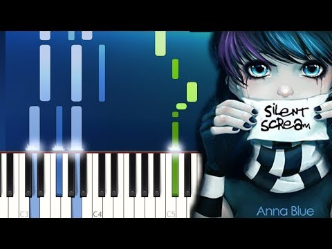 Anna Blue- Silent Scream Piano Tutorial