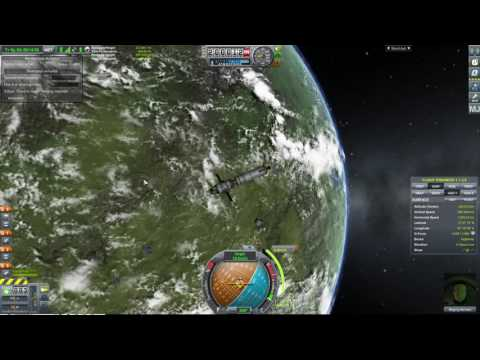 KSP Mech Jeb Launch, Rendevouz and Docking