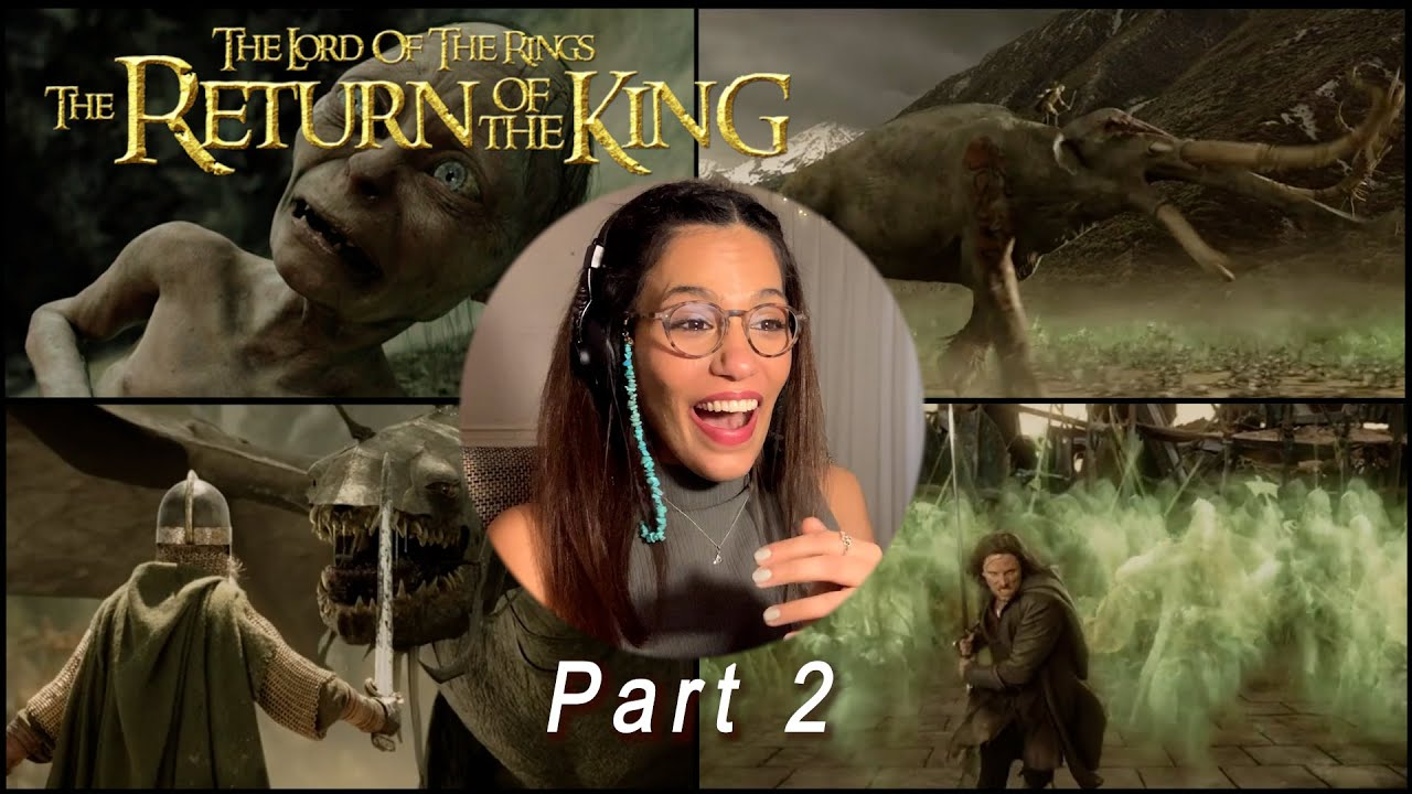 The Lord of The Rings (2003) | First Time Watching | Movie Commentary Part 2
