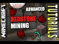 Minecraft PS4 - REDSTONE MINING - ADVANCED - How To - Tutorial ( PS3 / XBOX )