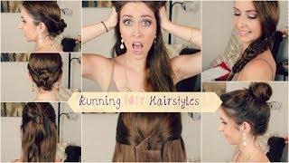 5 Heatless, Running Late Hairstyles | Courtney Lundquist