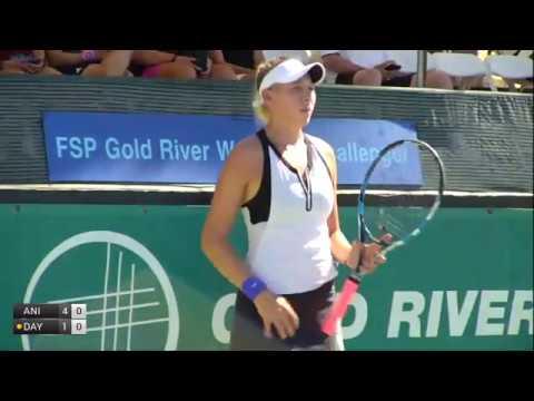 Anisimova Amanda v Day Kayla - 2017 ITF Sacramento