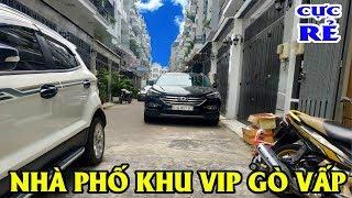 BÁN NHÀ GÒ VẤP Nhà VIP trong khu dân cư cao cấp đáng sống nhất năm 2019 giá  SALE SẬP SÀN