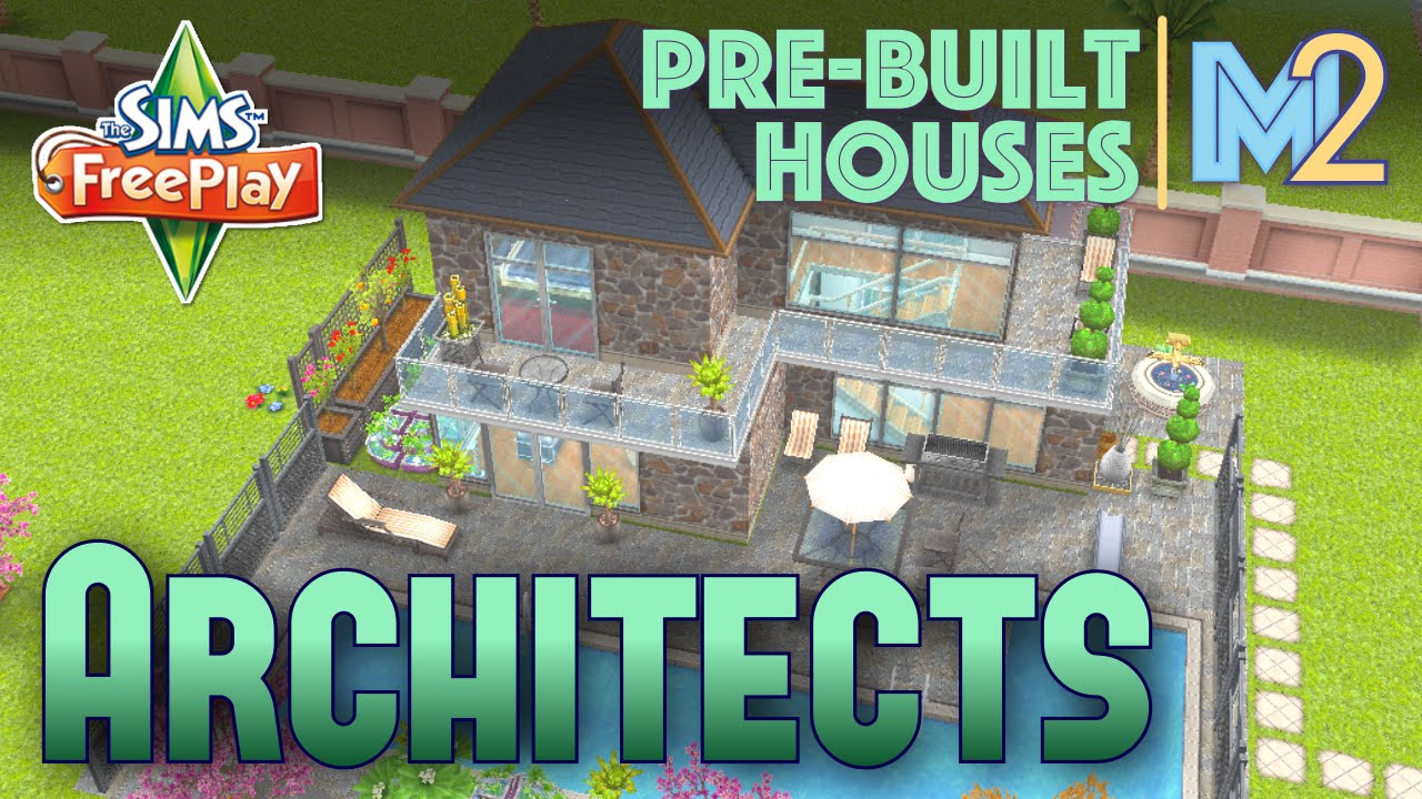 Sims FreePlay   Architect Homes Review   YouTube