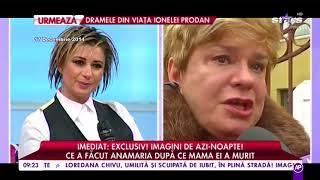 Ionela Prodan a murit. Ultimul mesaj al artistei pentru Anamaria, de la aniversarea fiicei ei