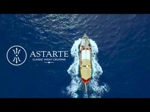 Classic Yacht  Cruising in Greece on board M/S Astarte.