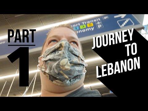 Journey To Lebanon - Part 1- International Travel During Covid