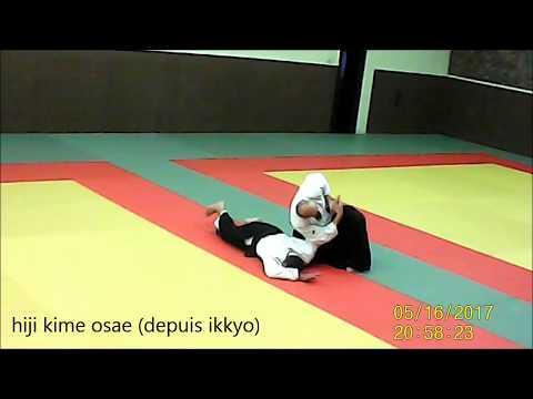 tanto dori chudan tsuki aikido longjumeau Yves BUSSER