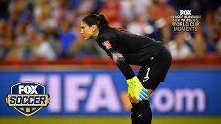 13th Most Memorable Women's World Cup™ Moment: Hope Solo Psychs Out Celia Sasic | FOX SOCCER