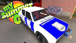 WE'RE THE POLICE NOW + RACE CAR SETUP! Racing the 1/4 Mile - My Summer Car Gameplay Highlights Ep 39