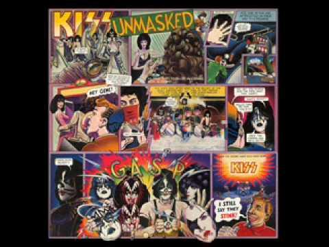 KISS - Unmasked - Naked City