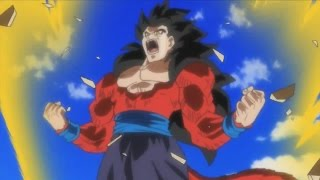 SUPER SAIYAN 4 GOHAN (SSJ4) Transformation Anime Cutscene, Super 18, New Towa - Dragon Ball Heroes