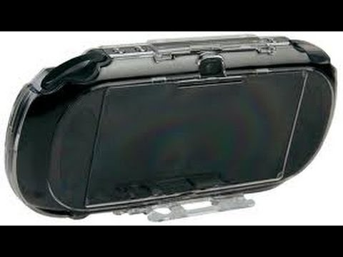 Playstation Vita Clear Armor Shell Review / Mad Catz