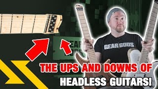 The Ups and Downs of Headless Guitars - Gear Gods
