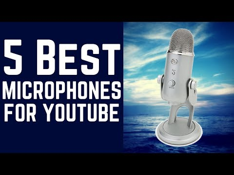 5 Best Microphones For Youtube.