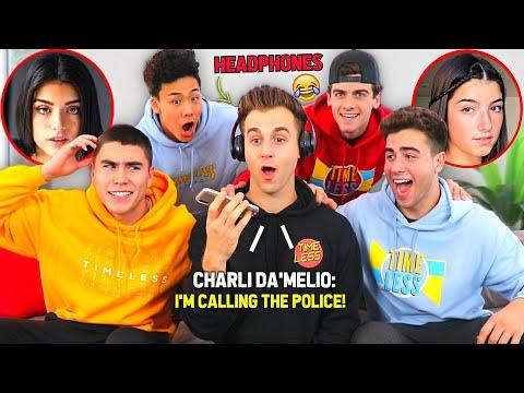 We Called Famous TikTokers (Charli, Addison & Lil Huddy)