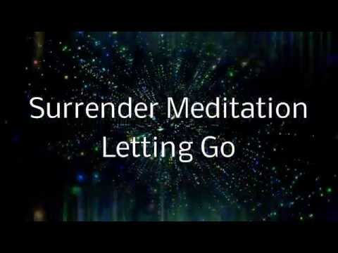 Surrender Meditation | A Spoken guided visualization (Letting go of control)