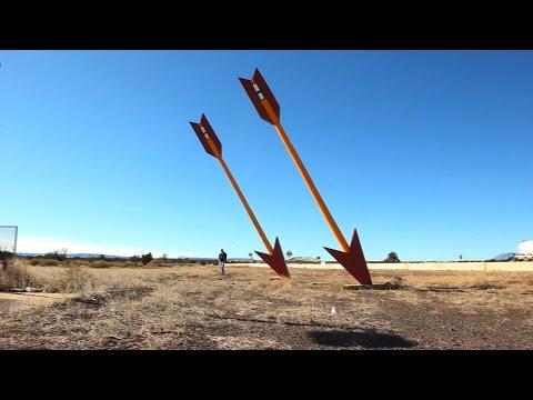 Abandoned Twin Arrows Trading Post - AZ