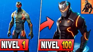 THIS IS OMEGA SKIN ULTRA IMPROVED LEGENDARY *LEVEL 100* Fortnite: Battle Royale