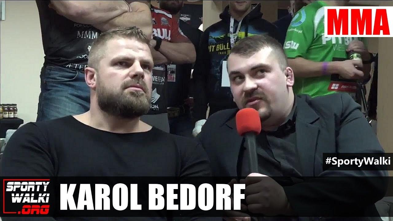 Karol Bedorf: Niebawem moja walka będzie ogłoszona