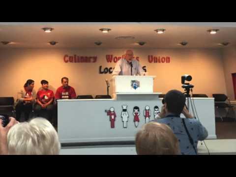 Sen. Bernie Sanders Town Hall Speech