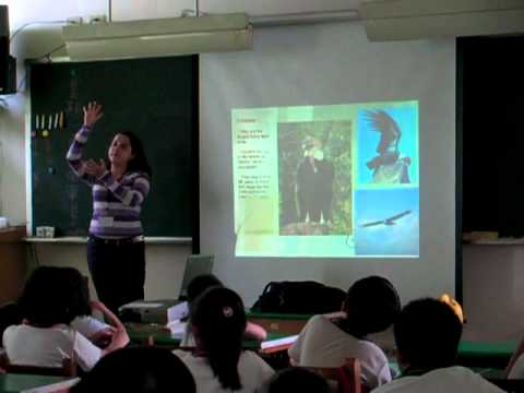 Colombia is passion: Isabel teaching about Colombia in TAIWAN