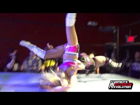 LuFisto dumps Penelope Ford on her head with a Back Drop Driver | Beyond Wrestling (WWR, SHIMMER)