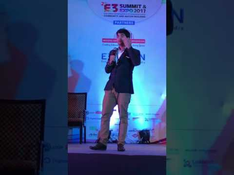 Startups and funding - Keynote by Shivam at Business forum Bangalore.