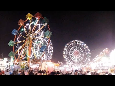 Mahim Fair | Mahim Ka Mela | Ferris Wheel | Joy Ride | Total Fun | Mumbai India Dec 2016 [HD]