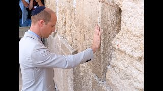 Prince William's historic visit to Israel