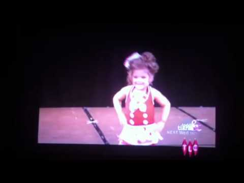 Toddlers and Tiaras-Penny Lane Sneezing Fit