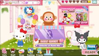Hello Kitty Dream Cafe / Adventure Simulation Games / Android Gameplay Video