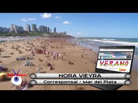 RADIO IMAGEN HERNANDO - OPERATIVO VERANO - NORA VIEYRA - CORRESPONSAL MAR DEL PLATA