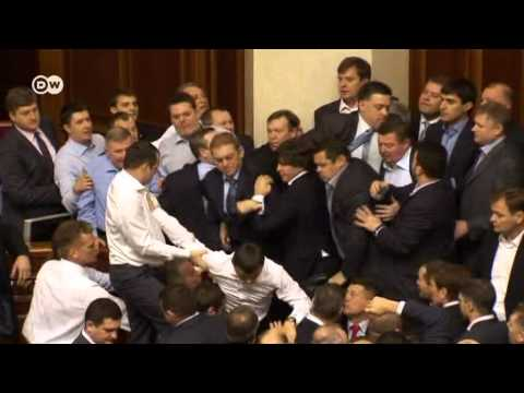 Kiev: Fighting in the parliament | Journal