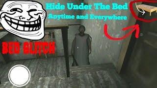 Granny:Insane Bed Glitch(Version:1.3-1.3.2)